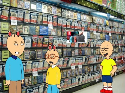 Caillou Behaves At Gamestop/Ungrounded