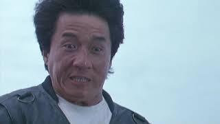 Опасный трюк Джеки Чана из фильма кто я?