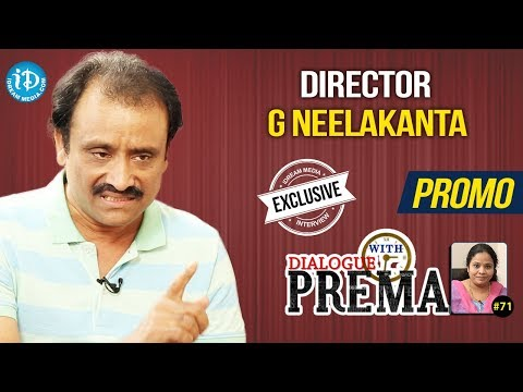 Director G Neelakanta Exclusive Interview - Promo || Dialogue With Prema #71 || Celebration Of Life