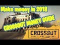 How to make money / Coins in Crossout 2018 on PC Xbox or Ps4 - Market Guide