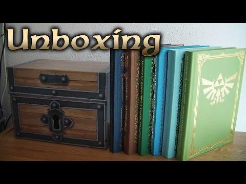 Legend Of Zelda Prima Box Set UNBOXING And Collection Guide Comparison