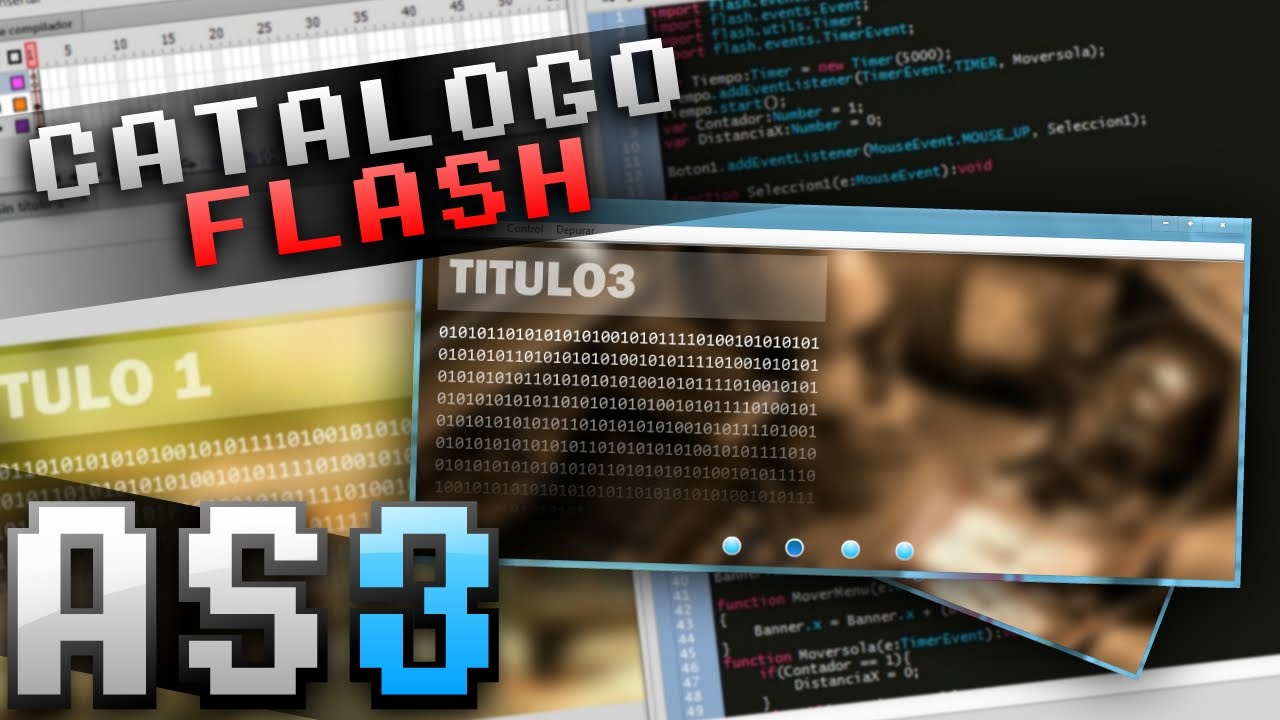 Tutorial Como Crear Un Catalogo En Flash Con Actionscript 3 Youtube