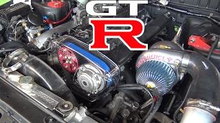 On prépare la GT-R pour le Dyno!
