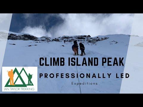 Island Peak climb: The best footage