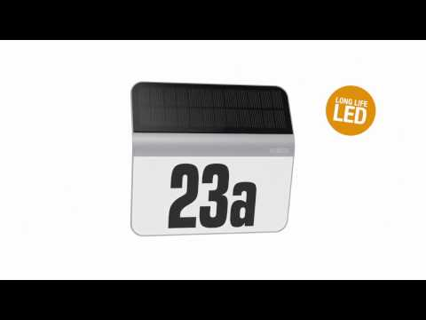 How To Install Microwave House Numbers Solar Lights