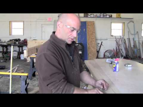 How to make a Counter top