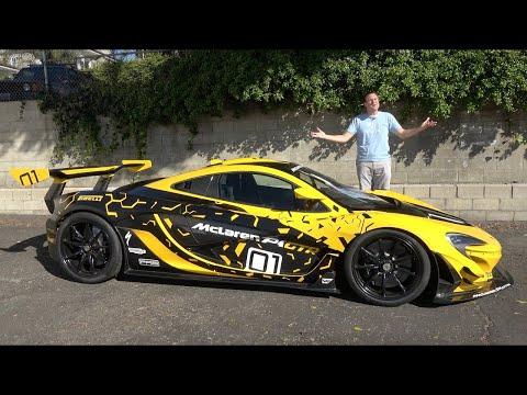 McLaren P1 GTR за $3 миллиона - самая захватывающая машина, на которой я ездил