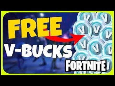 Free vbucks fortnite | How to get free v bucks in Fortnite Battle Royale | PS4/XBOX/PC/IOS