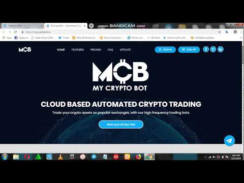 MyCryptoBot (MCB) - High Frequency Trading Bots
