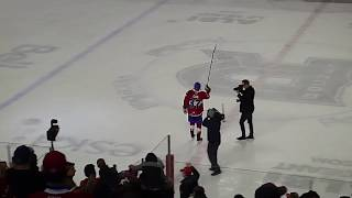 The 3 stars of the Utica Comets vs. Laval Rocket game 3/9/19