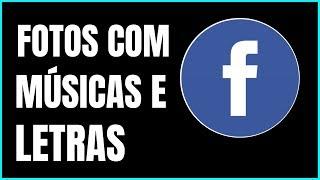 Como postar video no facebook com musica