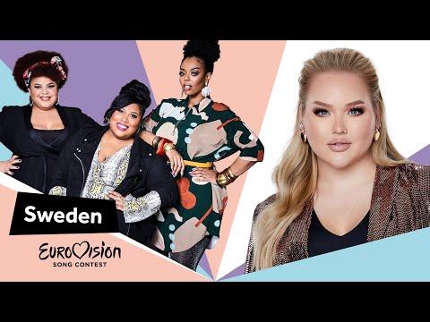 Eurovisioncalls The Mamas - Sweden 🇸🇪 with NikkieTutorials