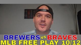 MLB Picks and Predictions | Atlanta Braves vs Milwaukee Brewers NLDS Game 4 Preview and Free Play