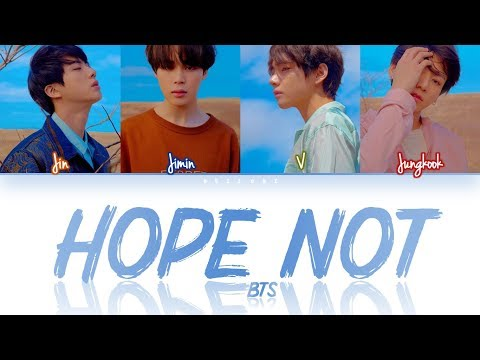 How Would BTS (Vocal Line) Sing 'HOPE NOT' By BLACKPINK (Eng/Rom/Han) (FANMADE)