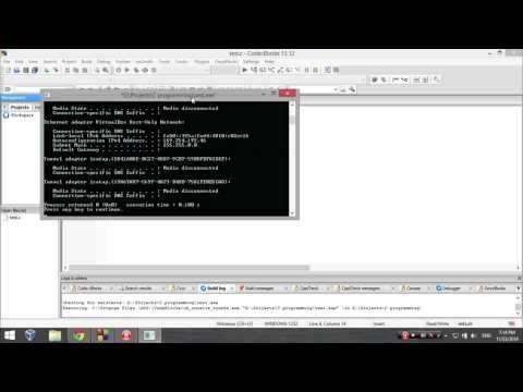 C programs code - Get IP address