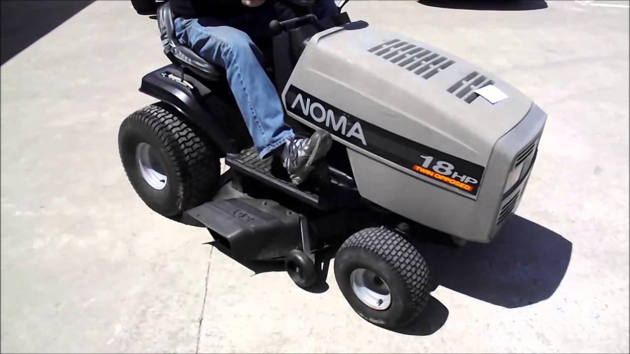 Lastbidonline Com Noma Riding Mower