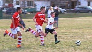 ⚽️ My TOUGHEST Soccer Game against a Team of GIANTS ⚽️ Utah Surf 07 vs Utah La Roca 07 Futbol Club