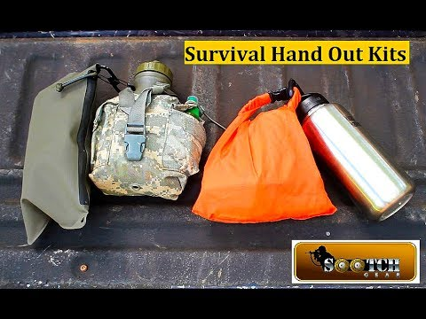 "10 Items for a ""Hand Out"" Survival Kit"