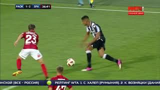 ПАОК - Спартак: 3-2. Разбор ошибок Спартака. Матч ТВ