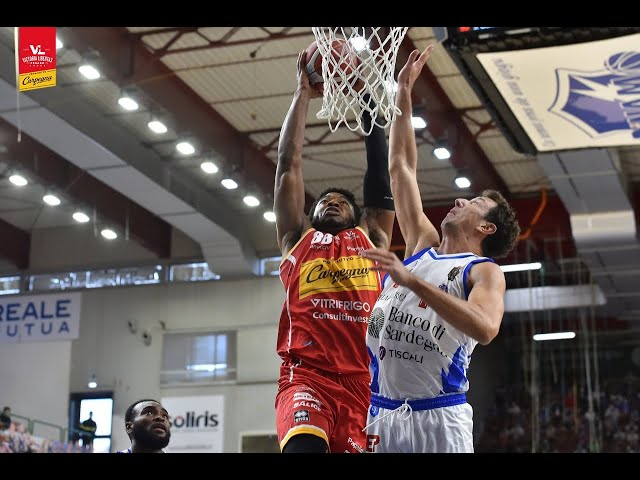[Fullmatch] Banco di Sardegna Sassari - Carpegna Prosciutto Basket Pesaro: 75-73