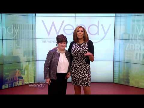 Susan Boyle ~ Fun Interview and Wendy Williams After Show (4 Dec 13)