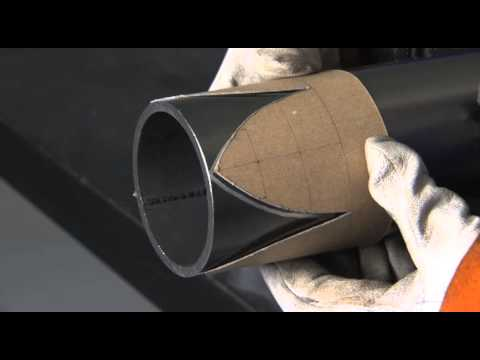 Hobart Institute - Pipe Layout for Pipefitters and Welders - YouTube