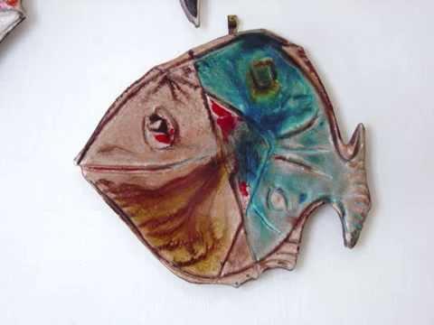 Vietri ceramica vietrese andrea darienzo pesci youtube