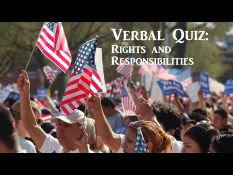 U.S. Citizenship - Rights & Responsibilities Free Class