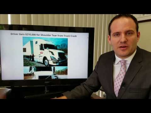 $210K Settlement for Shoulder Injury (Surgery) from Truck Accident