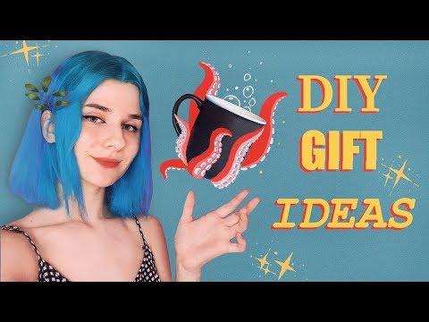 5 идей для подарков своими руками! ♡