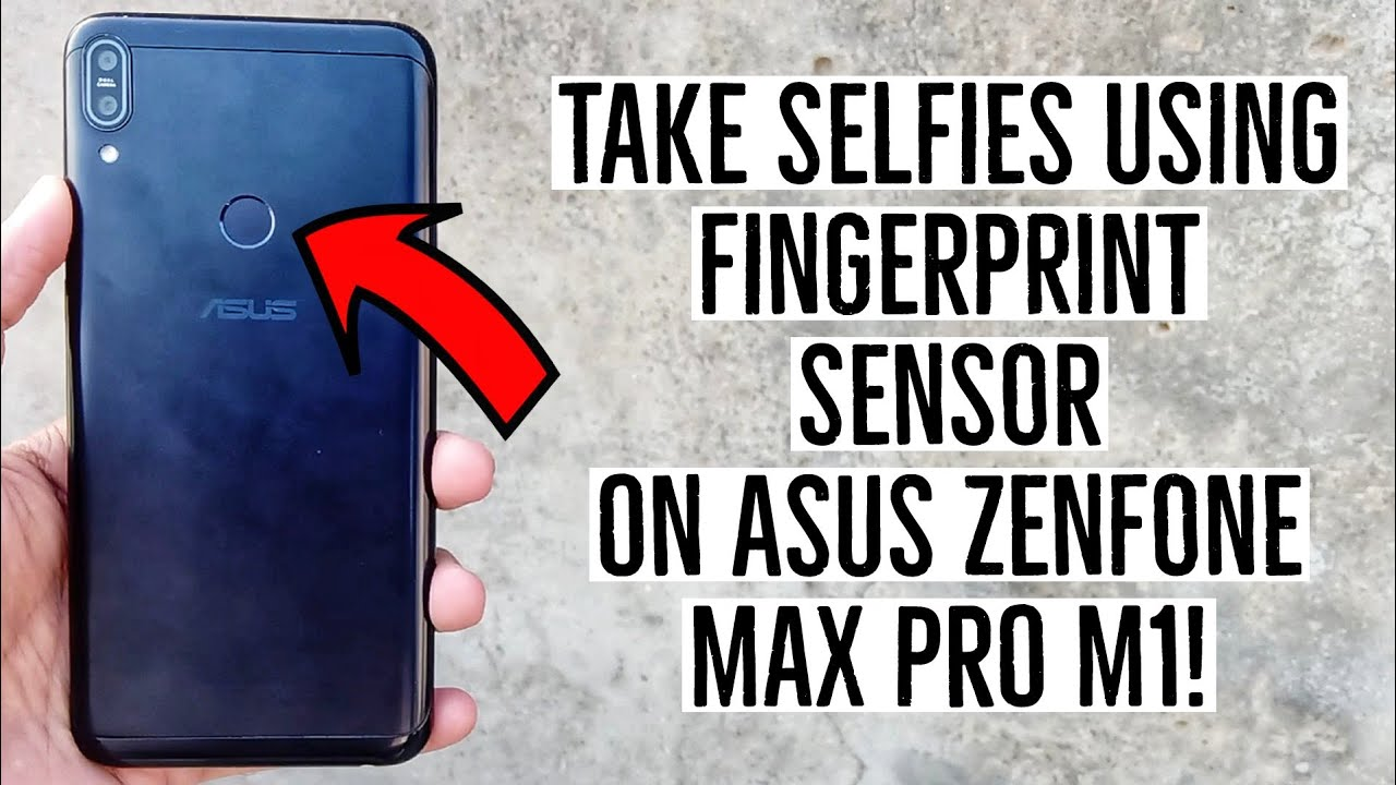 How to Take Selfies Using Fingerprint Scanner on Any Android Device!