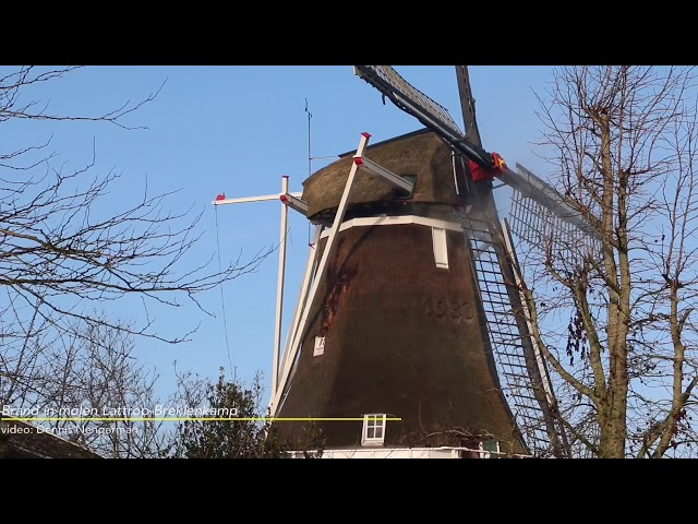 Brand in molen Lattrop-Breklenkamp