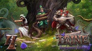 Trine: Enchanted edition прохождение на геймпаде часть 4 Красивая и опасная локация