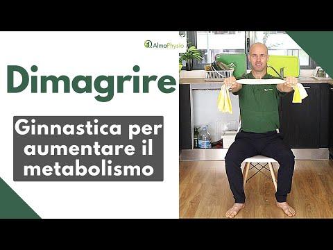 Dimagrire: ginnastica per aumentare il metabolismo e le capacità cognitive