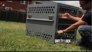 Zinger Aluminium Crates