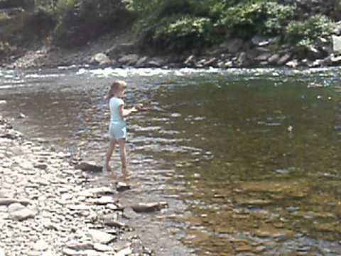 Leah fishing the beaverkill river roscoe ny youtube for Roscoe ny fishing