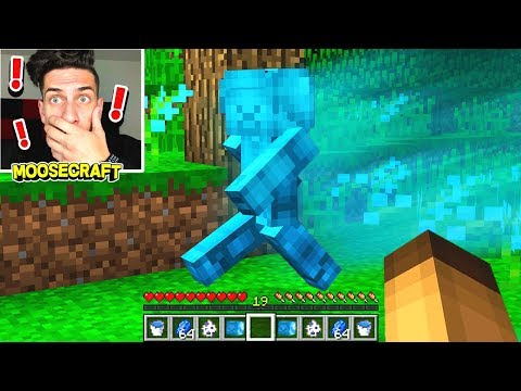 FINDING BLUE STEVE IN MINECRAFT! *NOT CLICKBAIT*