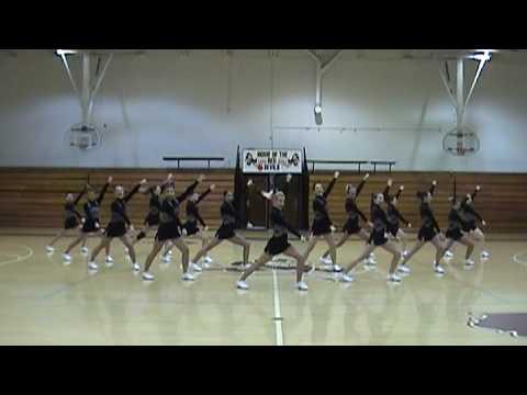 Sesser-Valier High School Cheerleaders-Steve for Gov.