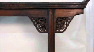 Carved Antique Chinese Altar Table_rb1014x.wmv