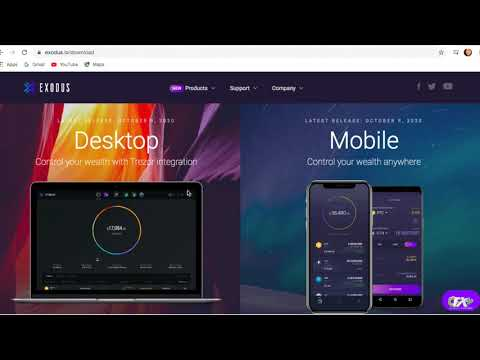 How To Download And Set Up Your Exodus Wallet On Your DESKTOP