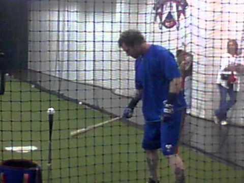 MVP Josh Hamilton taking swings