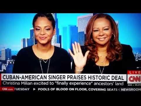 Black Cuban Americans: Christina Milian  Obama opening USCuba relations