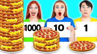 100 CAPAS DE ALIMENTOS DESAFÍO #4 por Multi DO Challenge