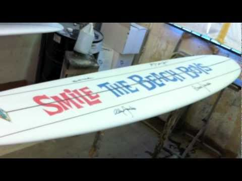 SMiLE Sessions Surfboard, The Making Of