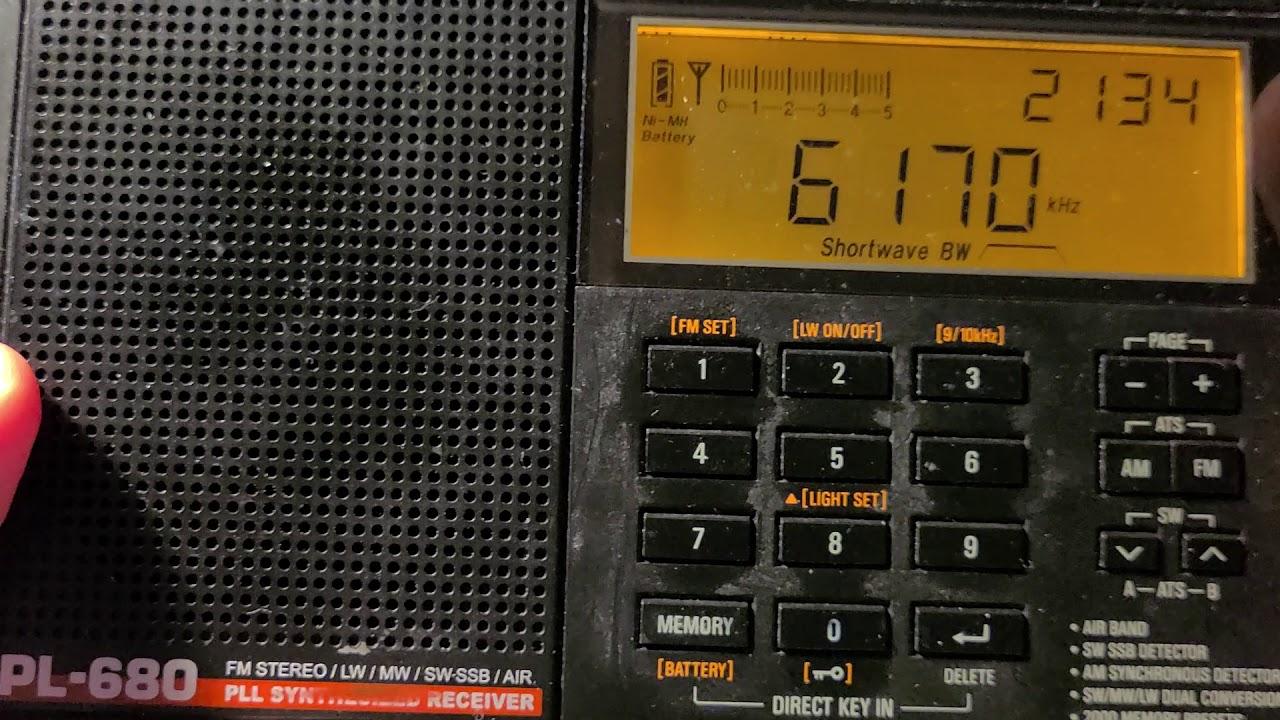 Tecsun PL-680 Radio//Radio-r/éveil