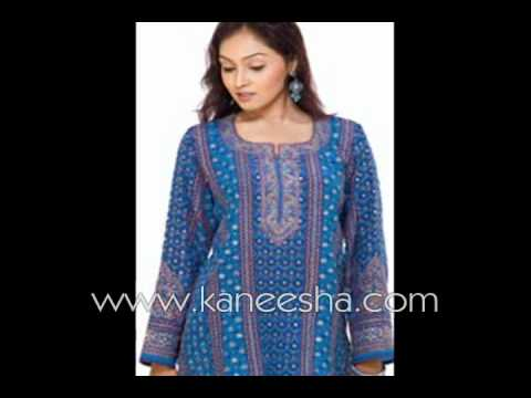 High Neck Designer Kurti, Indian Stylish Fashion Kurti Top