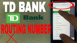 ✅  TD Bank ABA Routing Number - Where Is It? ?