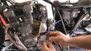 Video How to test ignition Pickup Coils on CDI Electronic Ignition w/ multi-meter download MP3, 3GP, MP4, WEBM, AVI, FLV November 2017