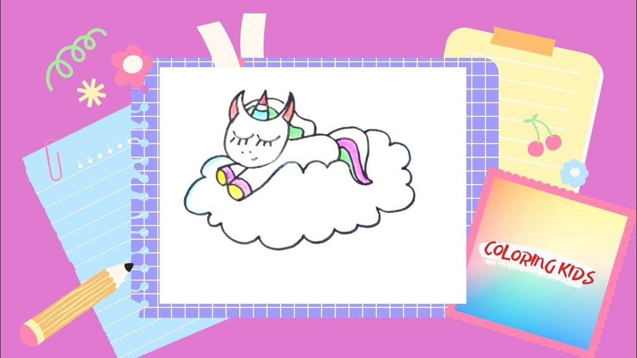 Rysujemy Slodziak Jednorozec Unicorn Youtube