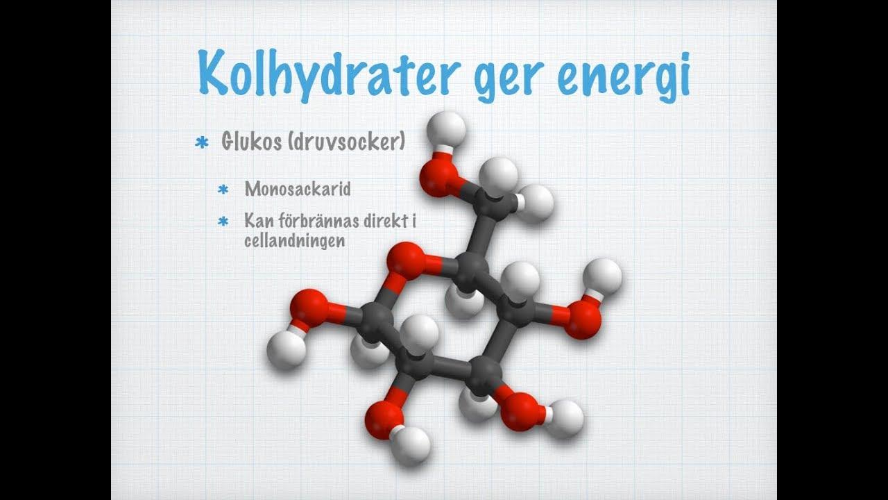 hur är kolhydrater uppbyggda